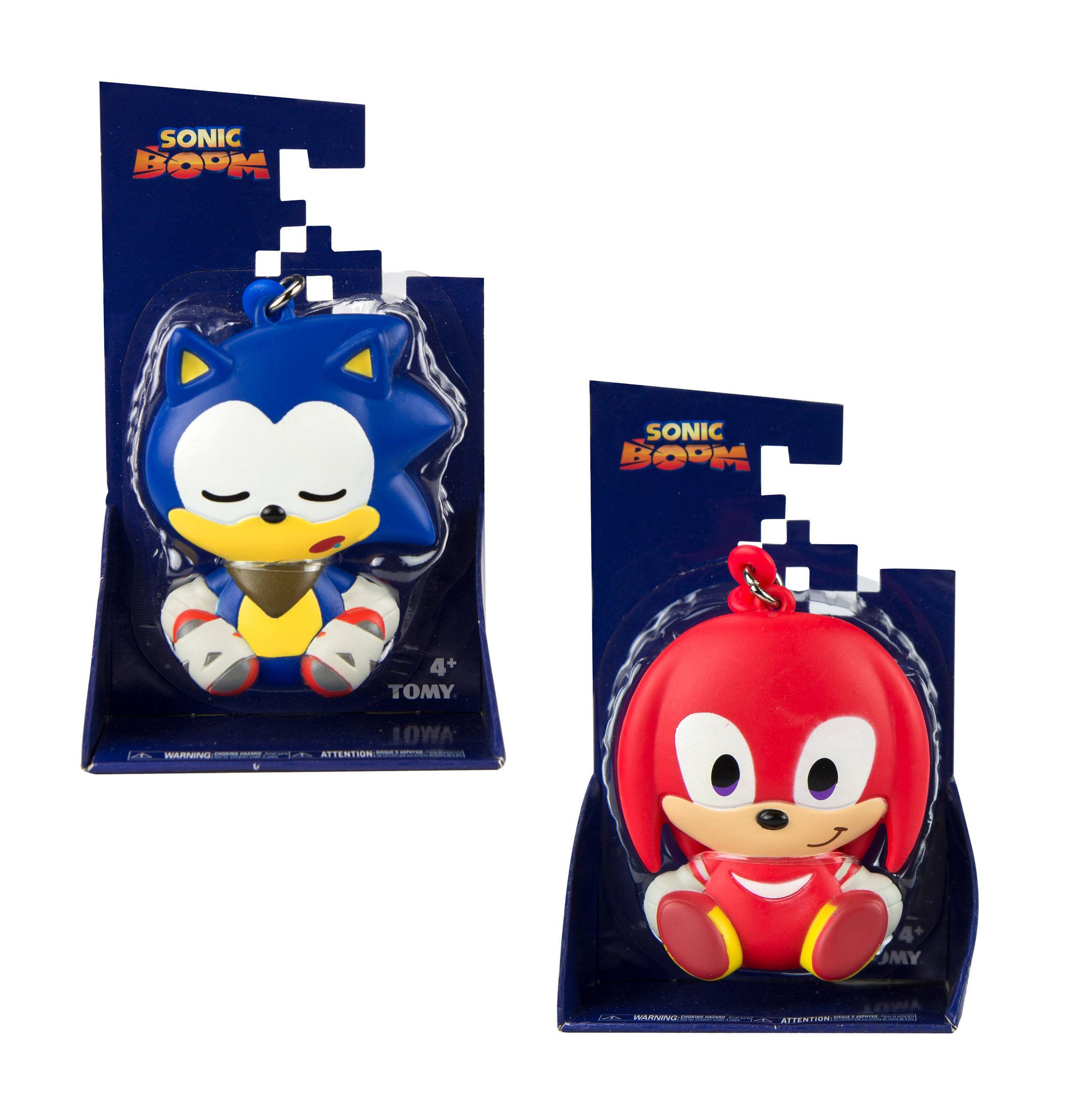 Sonic Boom Keychains Emoji Assortment A (6)