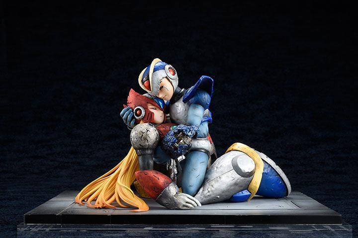 Mega Man X PVC Statue 1/7 X & Zero 15 cm