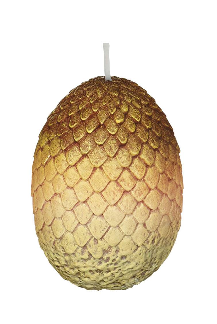 Game of Thrones Votive Candle Gold Dragon Egg 6 x 9 cm