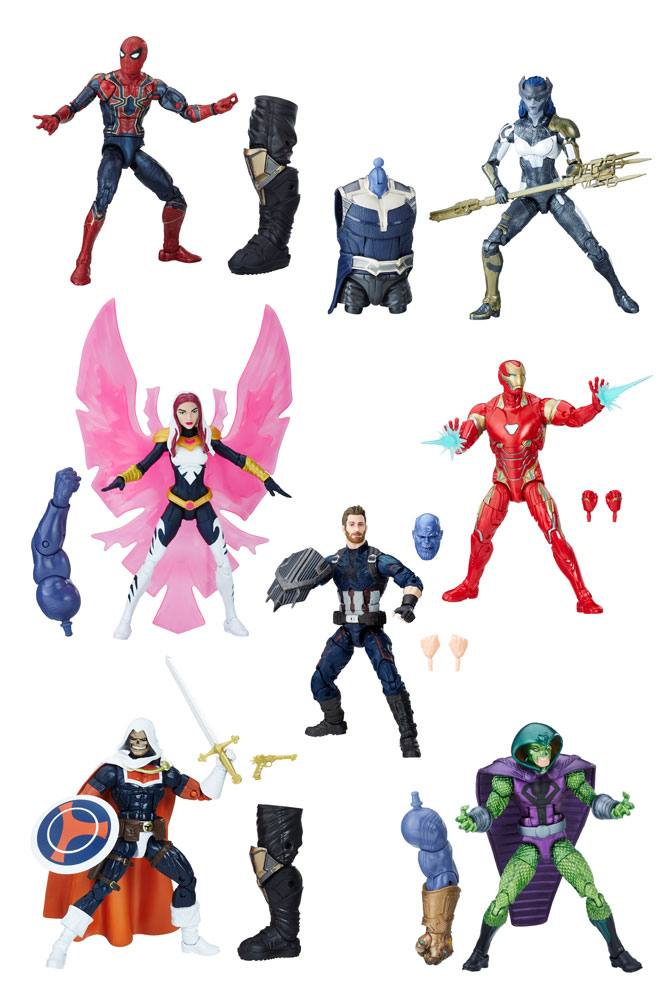 Marvel Legends Series Action Figures 15 cm Avengers 2018 Wave 1 Assortment (8)
