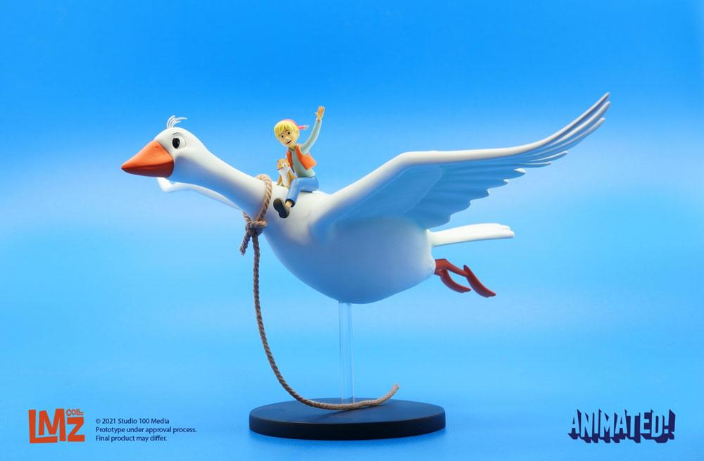 The Wonderful Adventures of Nils Animated! Statue Nils Holgersson 15 cm