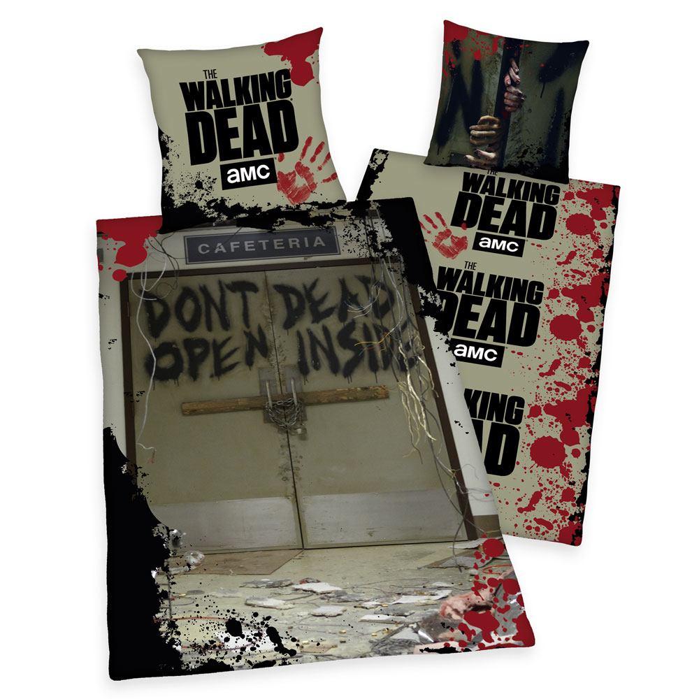 Walking Dead Duvet Set Don't Open Dead Inside 135 x 200 cm / 80 x 80 cm