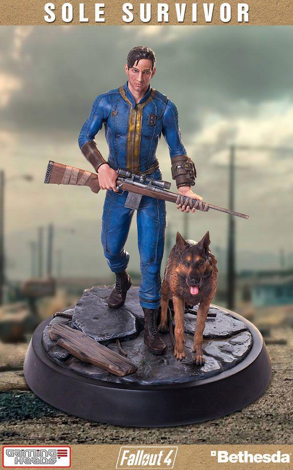 Fallout 4 Statue 1/4 Sole Survivor 53 cm