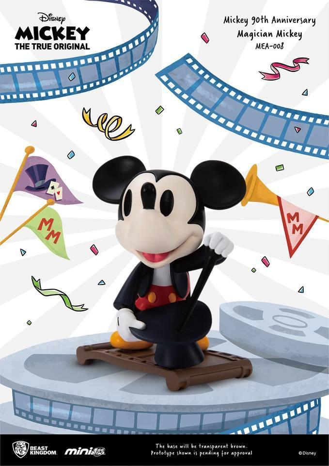 Mickey Mouse 90th Anniversary Mini Egg Attack Figure Magician Mickey 9 cm