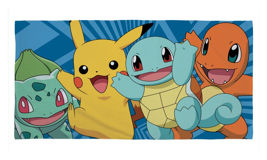 Pokemon Towel Catch 150 x 75 cm