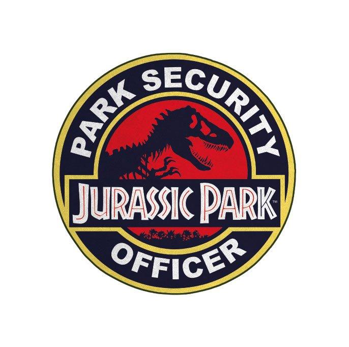 Jurassic Park Carpet Park Security Officer 80 cm