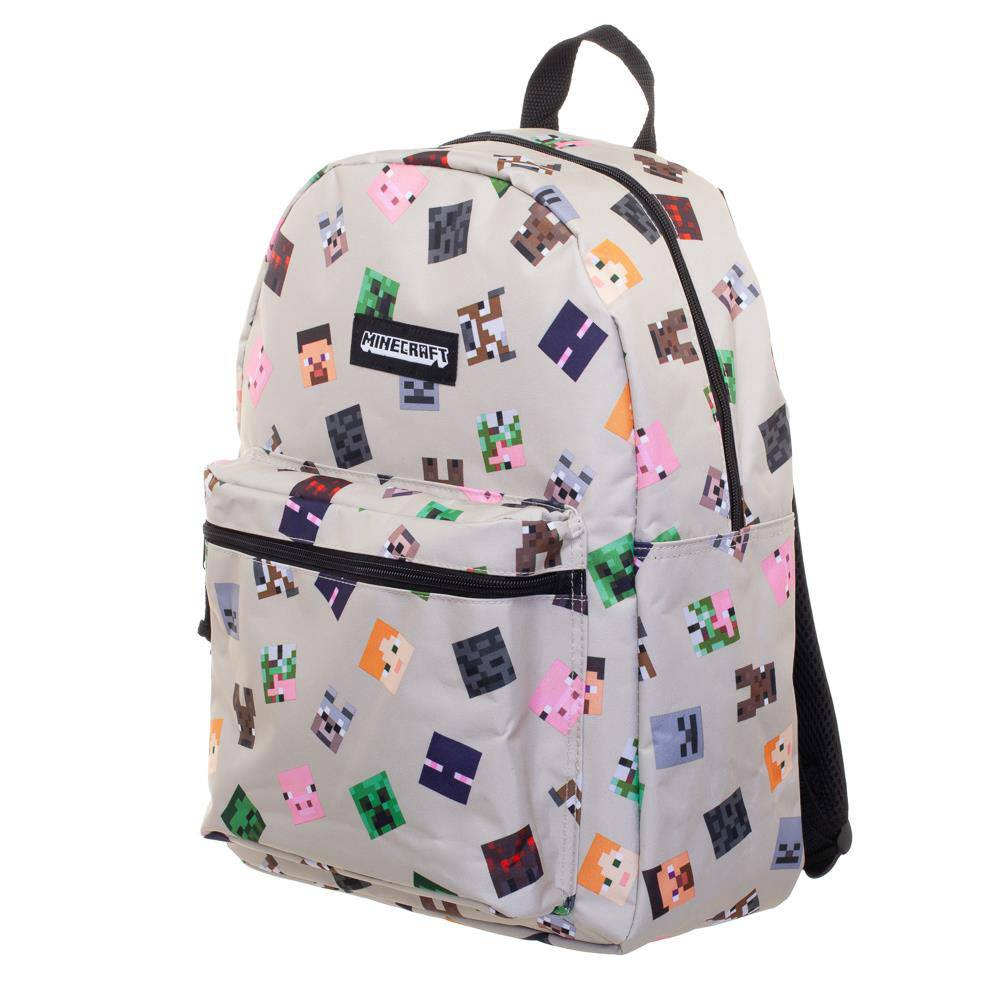 Minecraft Backpack Heads