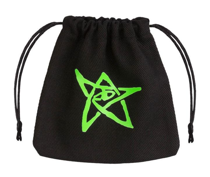 Call of Cthulhu Dice Bag black & green