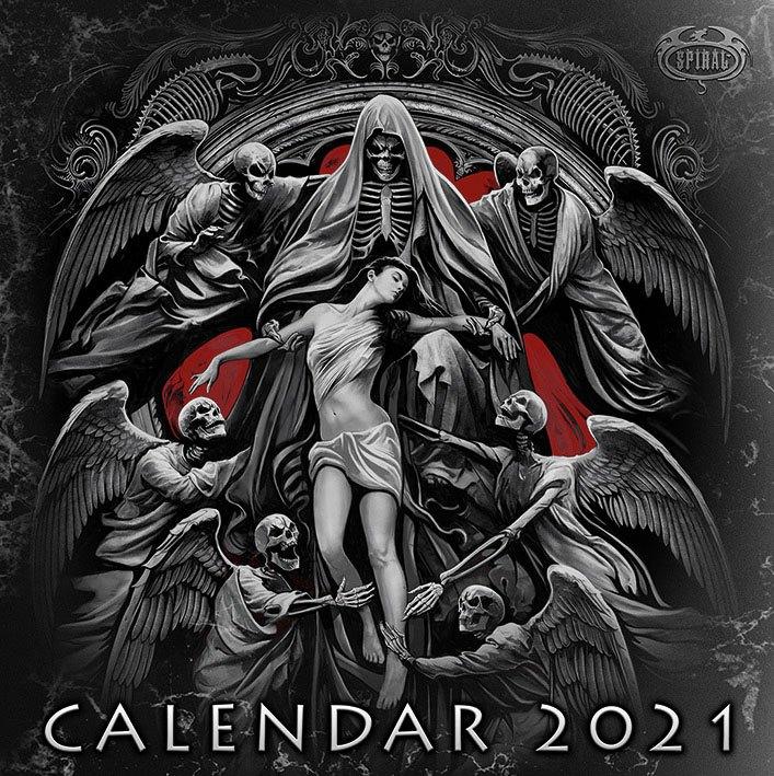 Spiral Calendar 2021 *English Version*