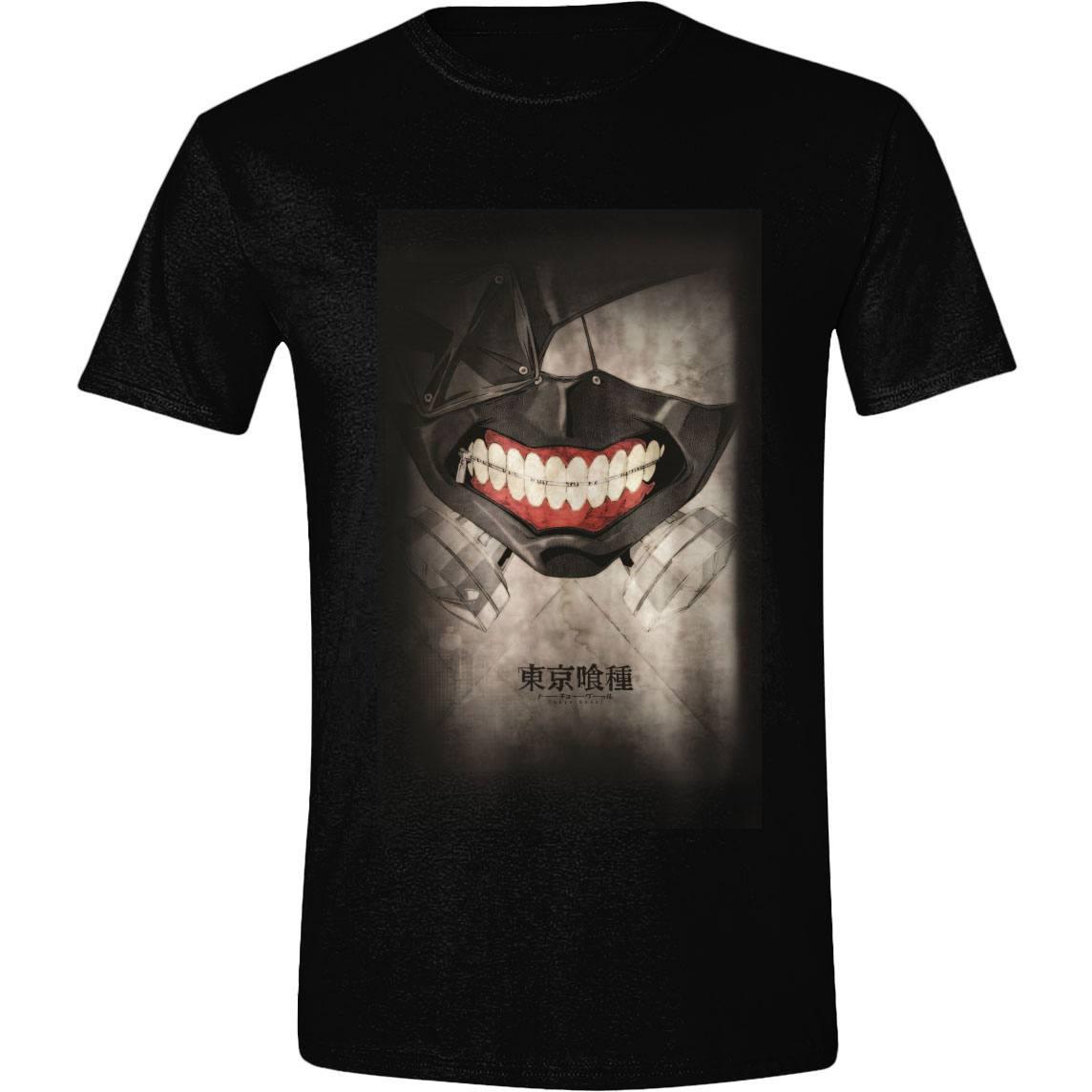 Tokyo Ghoul T-Shirt Masking Smiles Size L