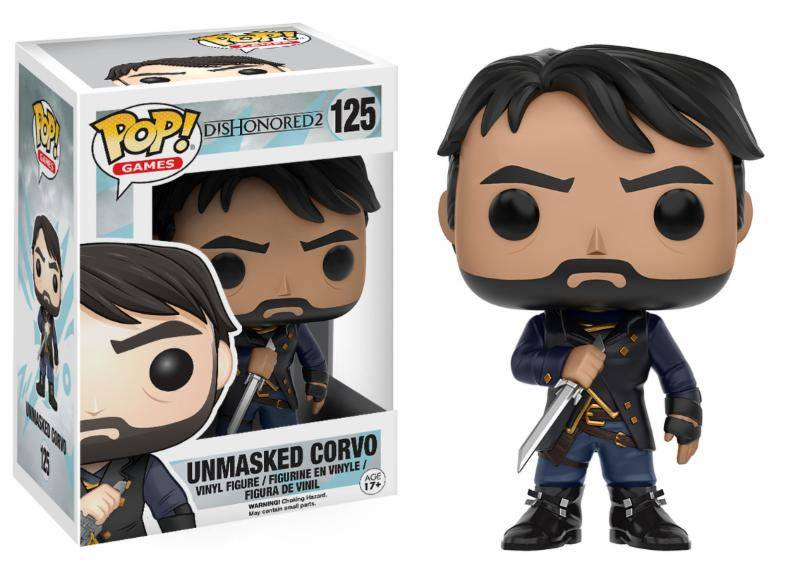 Dishonored POP! Games Vinyl Figure Corvo Unmasked 9 cm