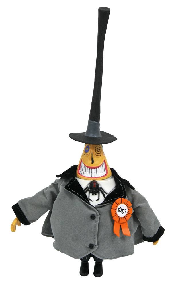 Nightmare before Christmas Silver Anniversary Action Figure The Mayor 25 cm
