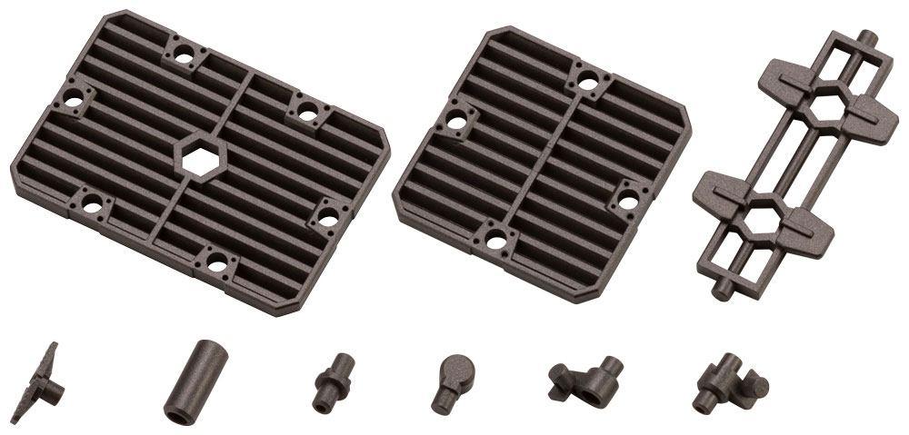 Hexa Gear Plastic Model Kit Expansion Pack 1/24 Block Base 06 Slat Plate Option 5 cm