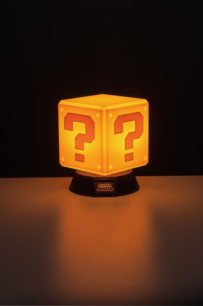 Super Mario 3D Light Question Block 10 cm