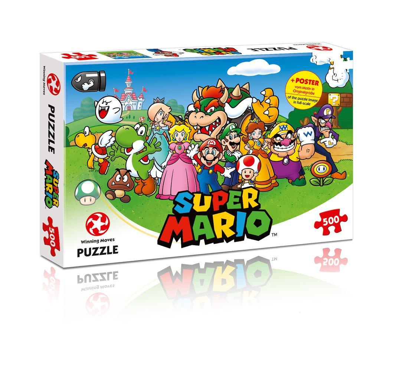 Super Mario Jigsaw Puzzle Mario & Friends