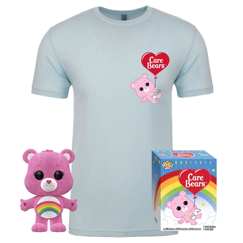 Care Bears POP! & Tee Box Cheer Bear heo Exclusive Size L