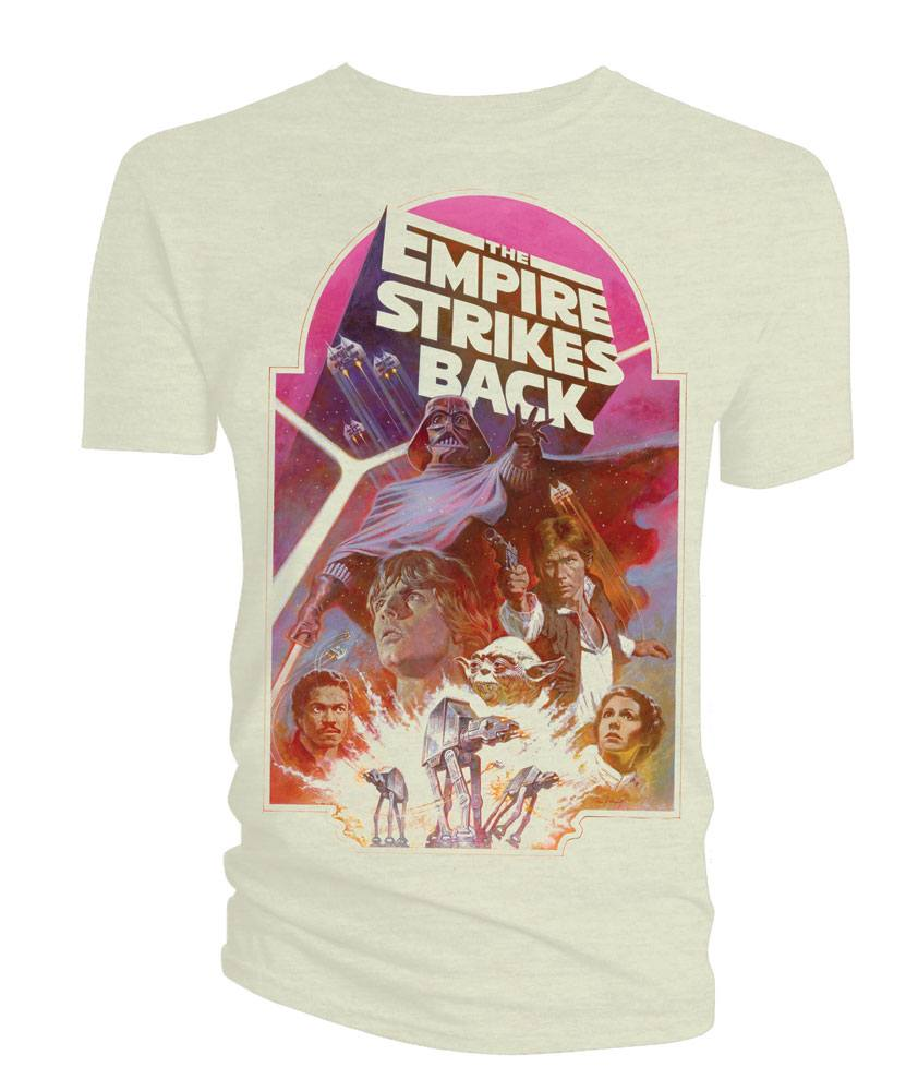 Star Wars T-Shirt Empire Strikes Back Poster Size XL