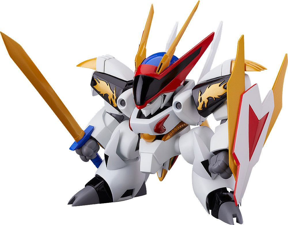 Mashin Hero Wataru Plastic Model Kit 1/20 PLAMAX MS-05 Ryuomaru 8 cm