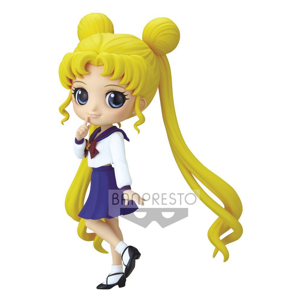 Sailor Moon Eternal The Movie Q Posket Mini Figure Usagi Tsukino Ver. A 14 cm