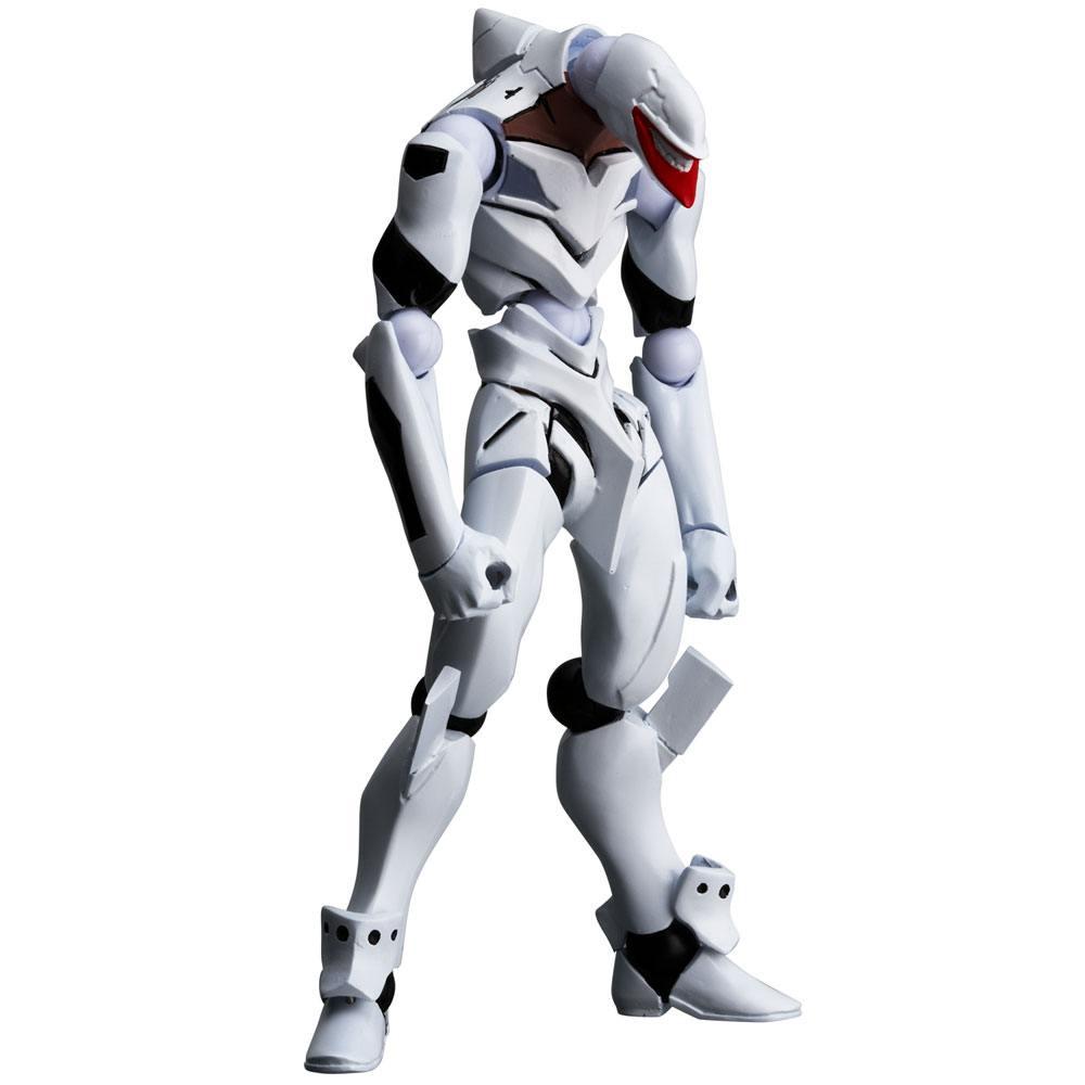 Evangelion Evolution Action Figure Revoltech EV-009 Eva Mass Production Model Comic Ver. 14 cm