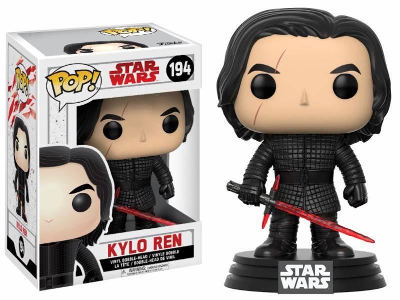 Star Wars Episode VIII POP! Vinyl Bobble-Head Kylo Ren 9 cm