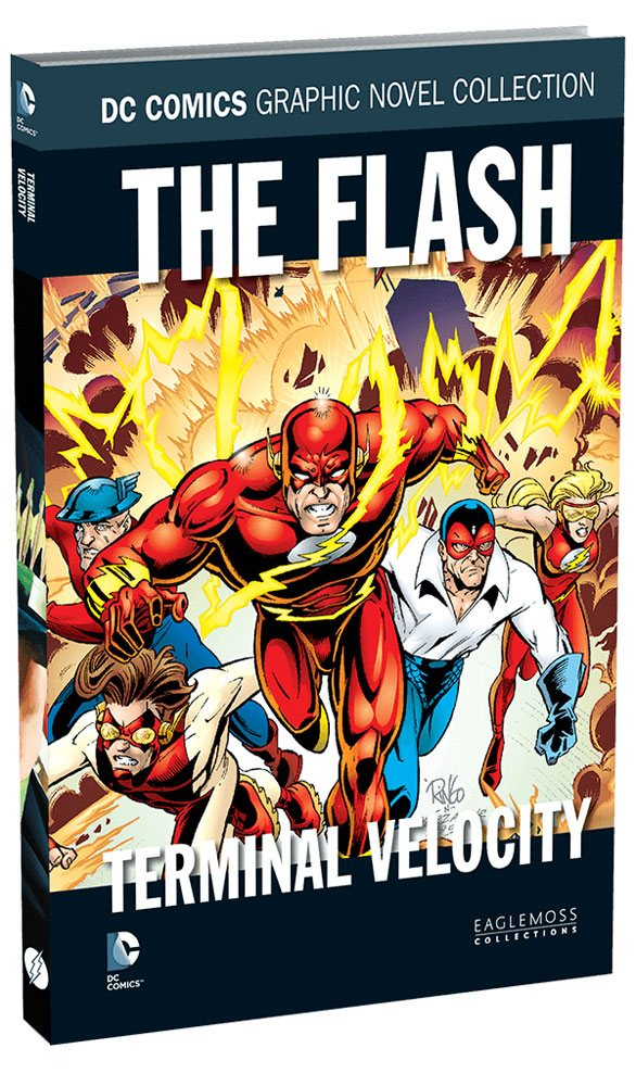 DC Comics Graphic Novel Collection #96 The Flash: Terminal Velocity Case (12) *German Version*
