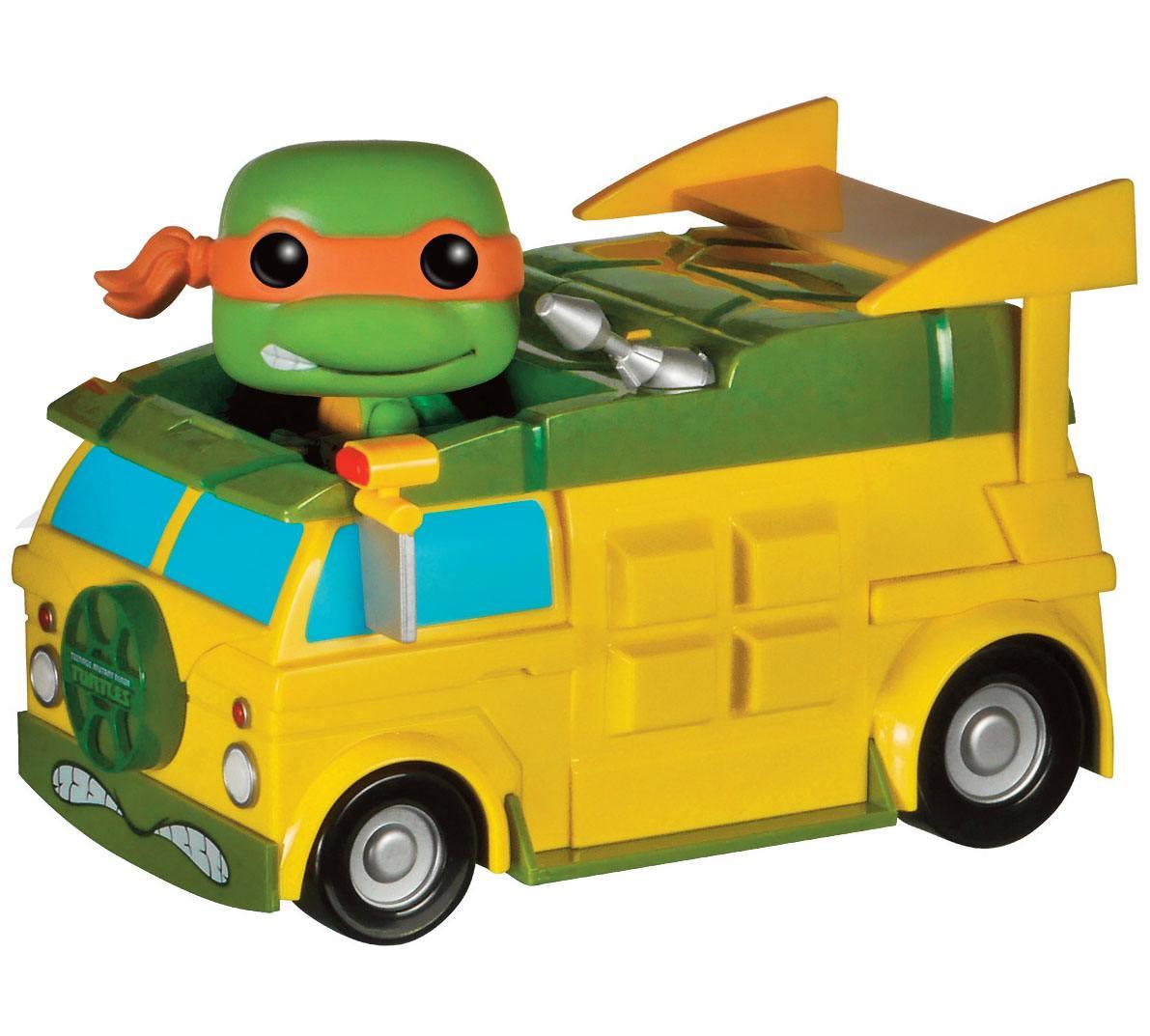 Teenage Mutant Ninja Turtles POP! Vinyl Figure Van with Michelangelo 20 cm