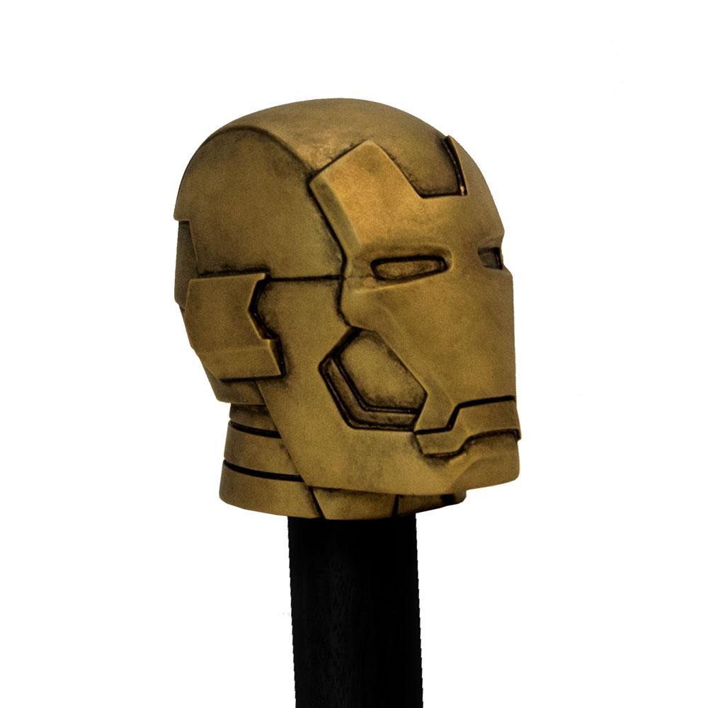 Marvel Comics Stix Walking Stick Cane Topper Iron Man 9 cm