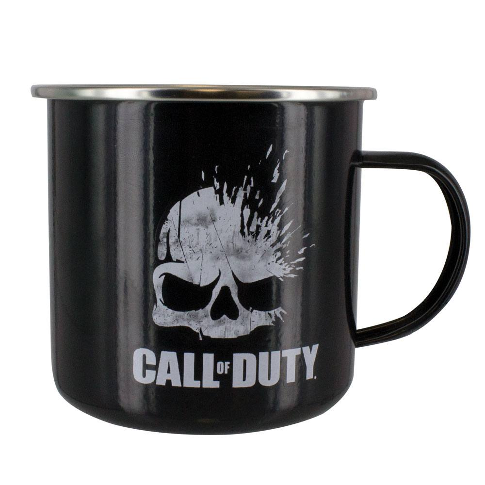 Call of Duty Enamel Mug Skull