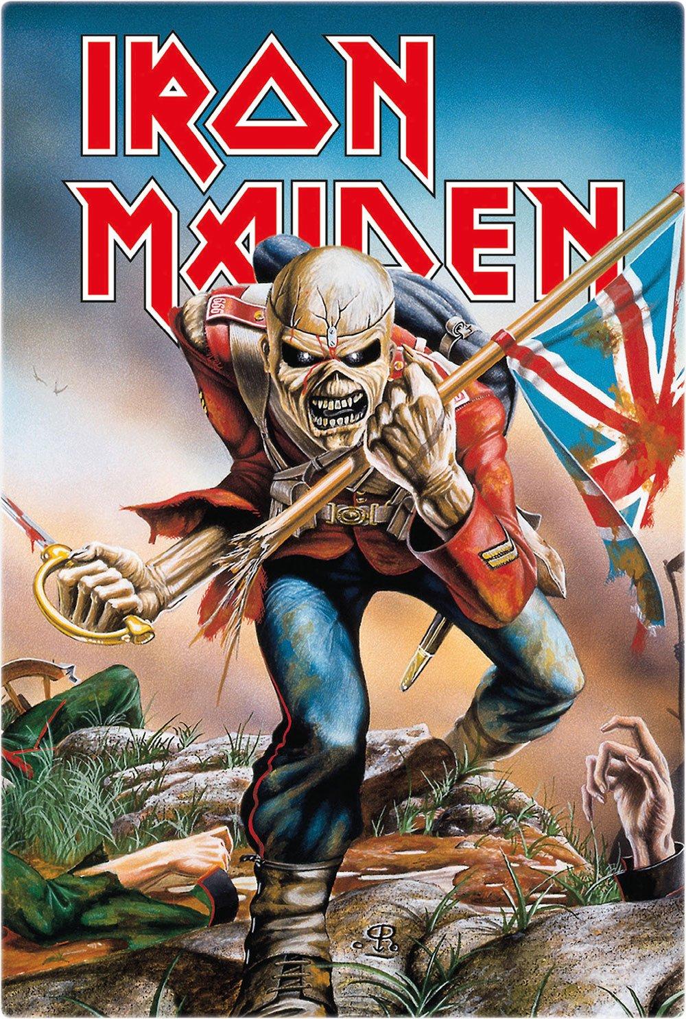 Iron Maiden Tin Sign Trooper 20 x 30 cm