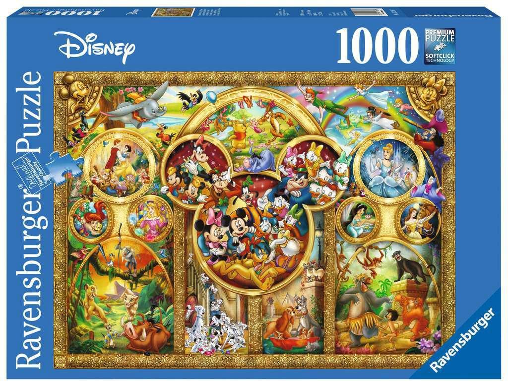 1000 Stuks Puzzel Disney