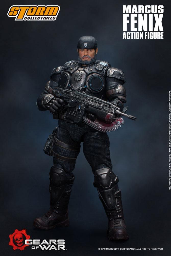 Gears of War 5 Action Figure 1/12 Marcus Fenix 16 cm