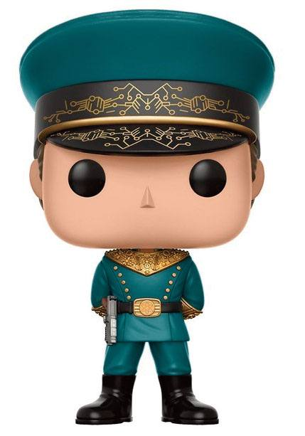 Valerian and the City of a Thousand Planets POP! Movies Vinyl Figure Commander Arun Filitt 9 cm