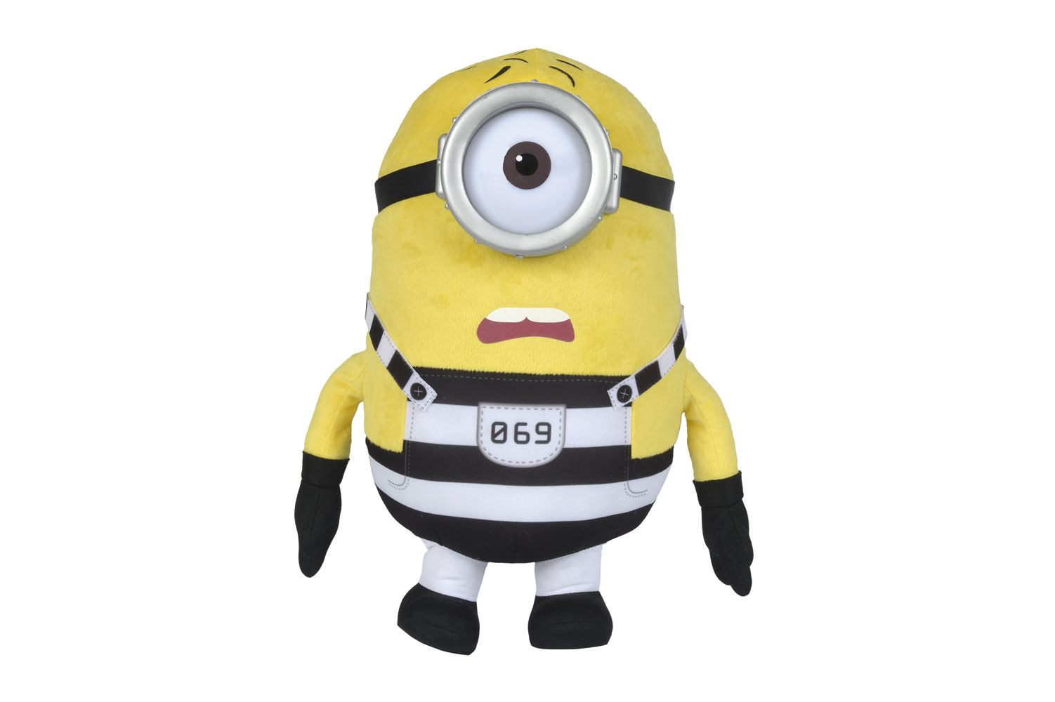 Despicable Me 3 Plush Figure Stuart Prison Version 37 cm