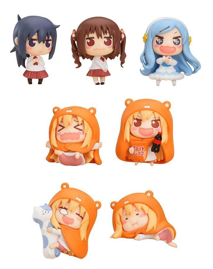 Himouto! Umaru-chan Mini Figures 4 cm Assortment (8)