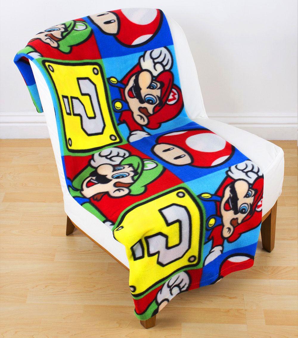 Nintendo Fleece Blanket Super Mario 100 x 150 cm