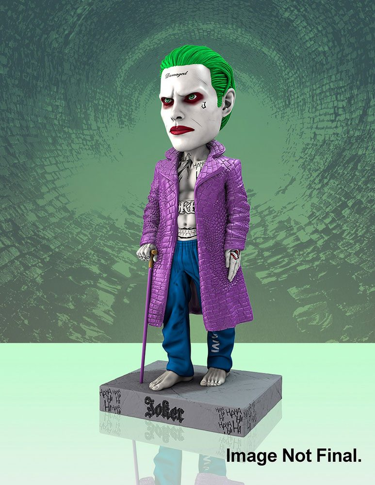 Suicide Squad Head Knocker Bobble-Head Joker 20 cm --- DAMAGED PACKAGING