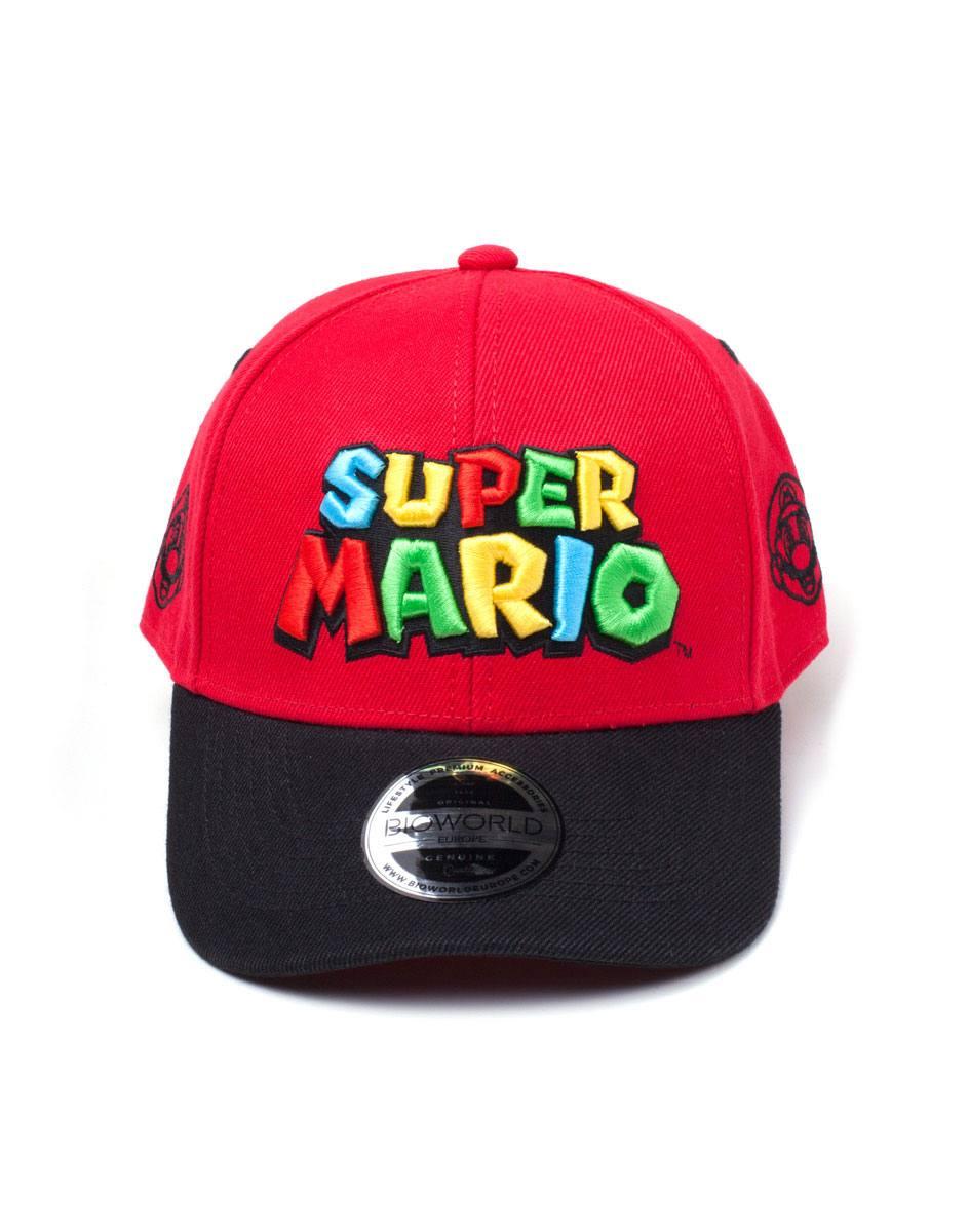 Nintendo Baseball Cap Super Mario Logo