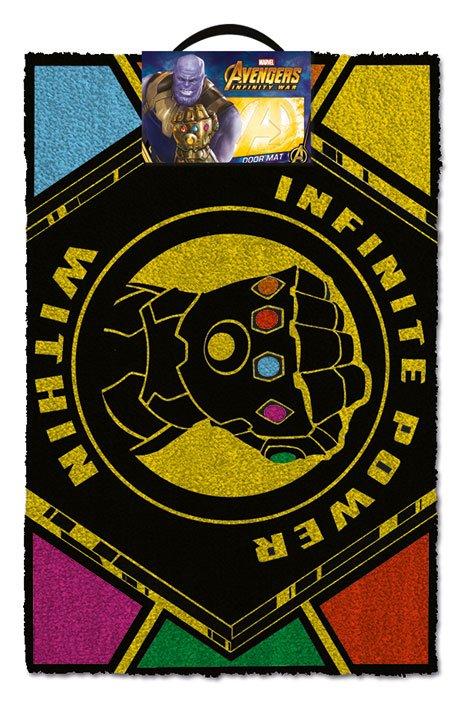 Avengers Infinity War Doormat Infinite Power Within 40 x 60 cm