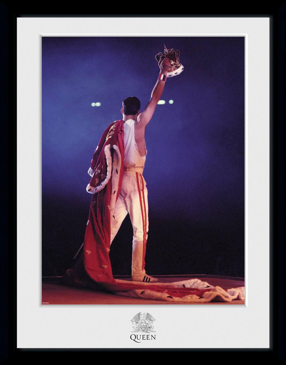 Queen Framed Poster Crown (Bravado) 45 x 34 cm