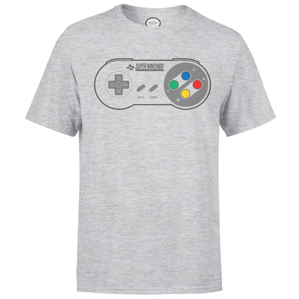 Nintendo T-Shirt SNES Controller Size XL