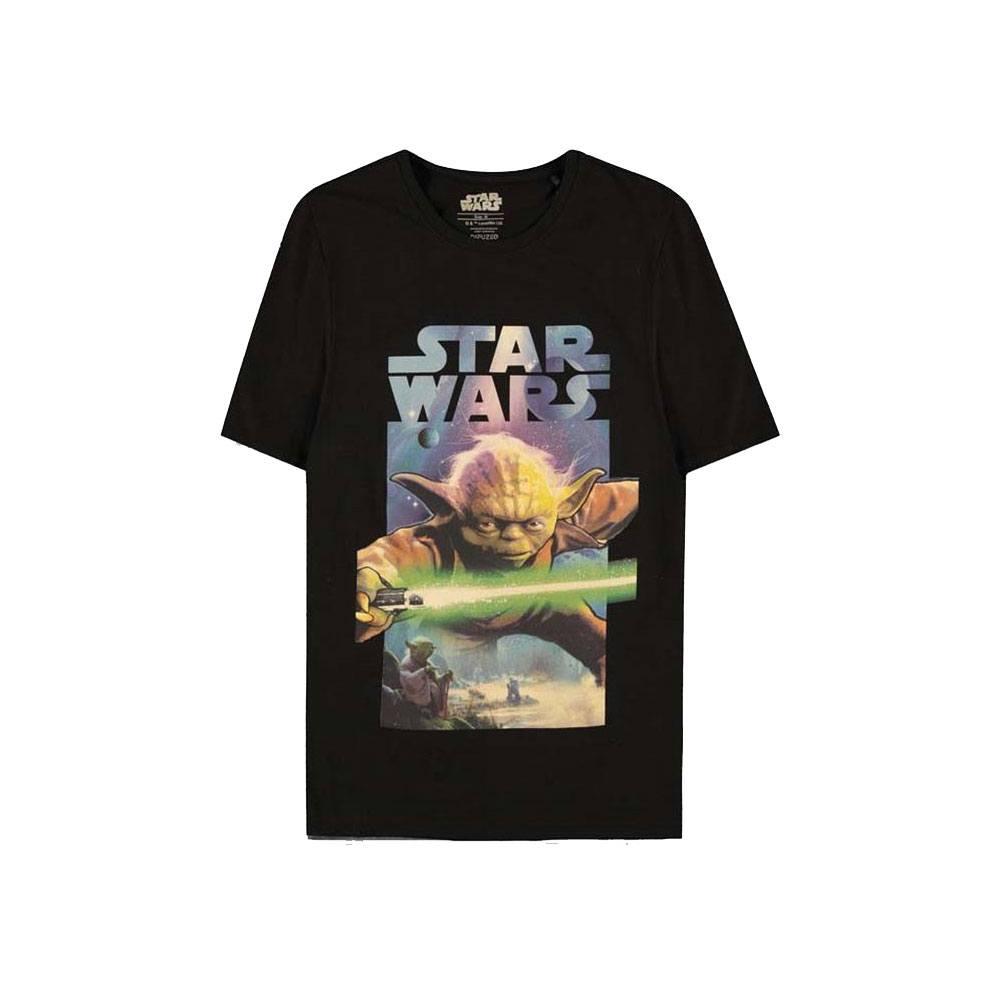 Star Wars T-Shirt Yoda Poster Size M