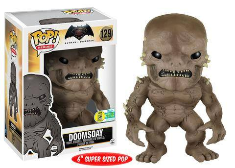Batman v Superman Super Sized POP! Heroes Vinyl Figure Doomsday SDCC 2016 Exclusive 15 cm
