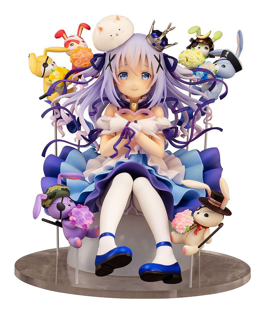 Is the Order a Rabbit PVC Statue 1/7 Chino & Rabbit Dolls 18 cm