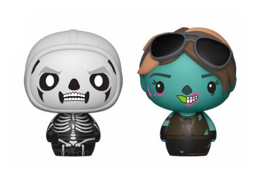 Fortnite Pint Size Heroes Mini Figures 2-Pack Skull Trooper & Ghoul Trooper 6 cm