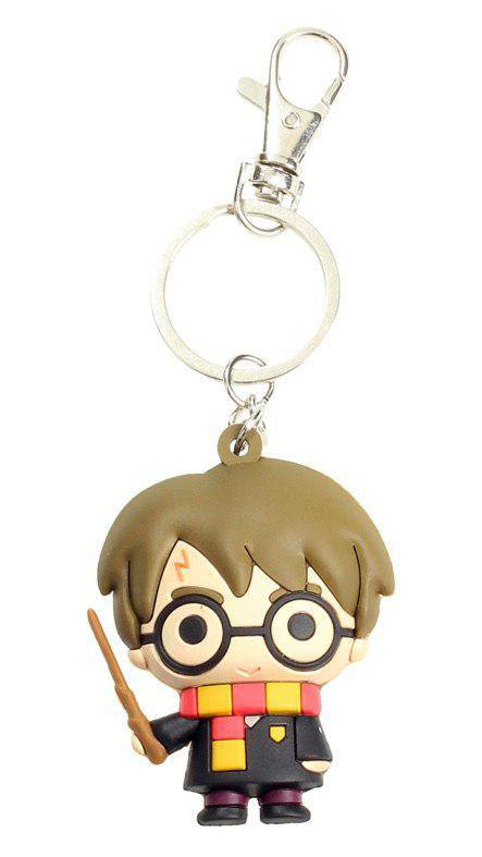 Harry Potter Rubber Keychain Harry Potter 7 cm
