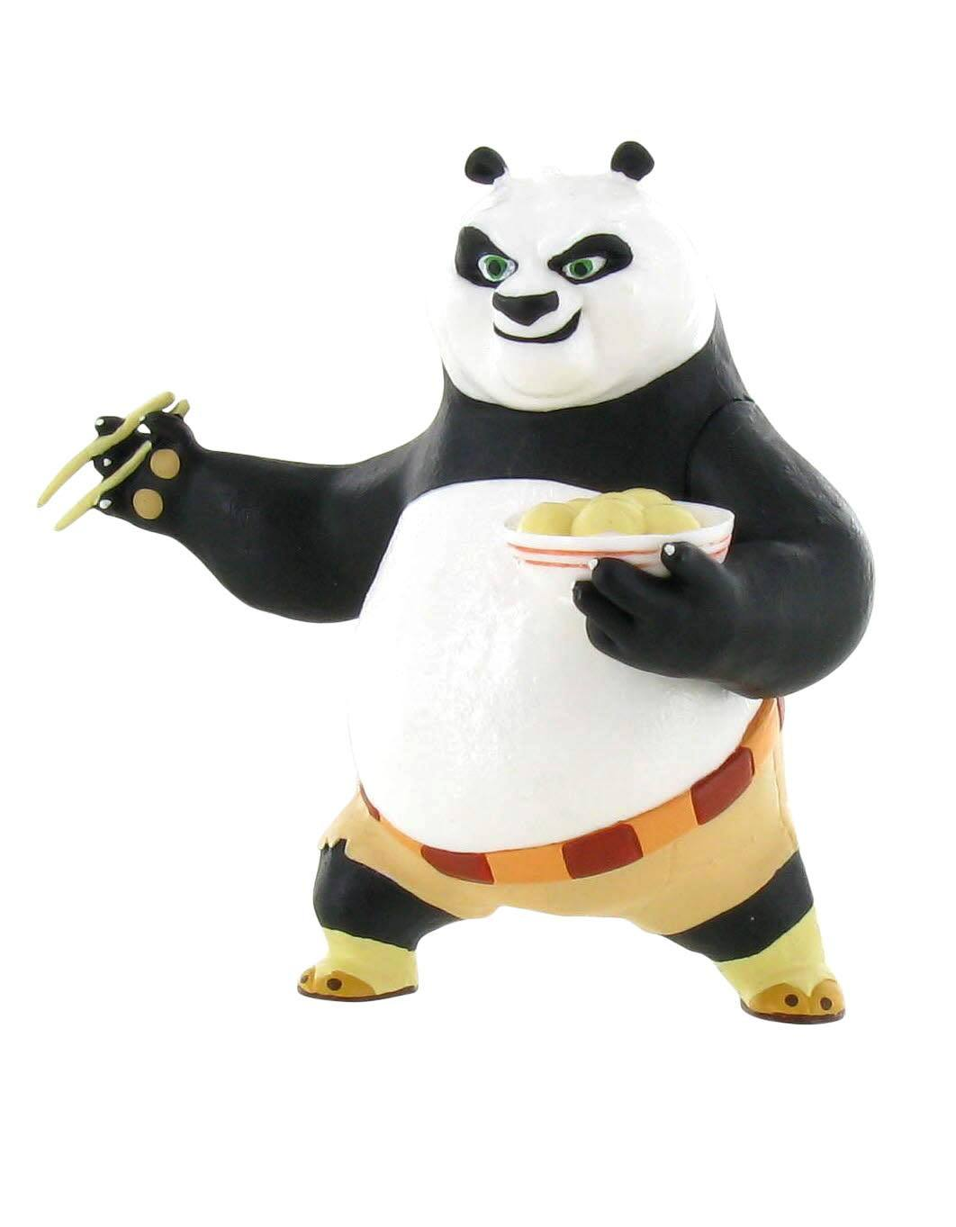 Kung Fu Panda Mini Figure Po Eating 8 cm