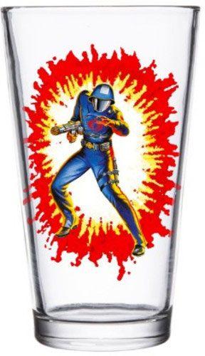 G.I. Joe Pint Glass Cobra Commander