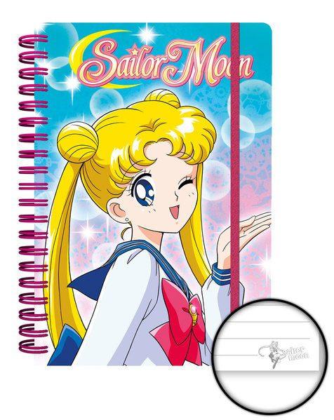 Sailor Moon Notebook A5 Sailor Moon Case (12)
