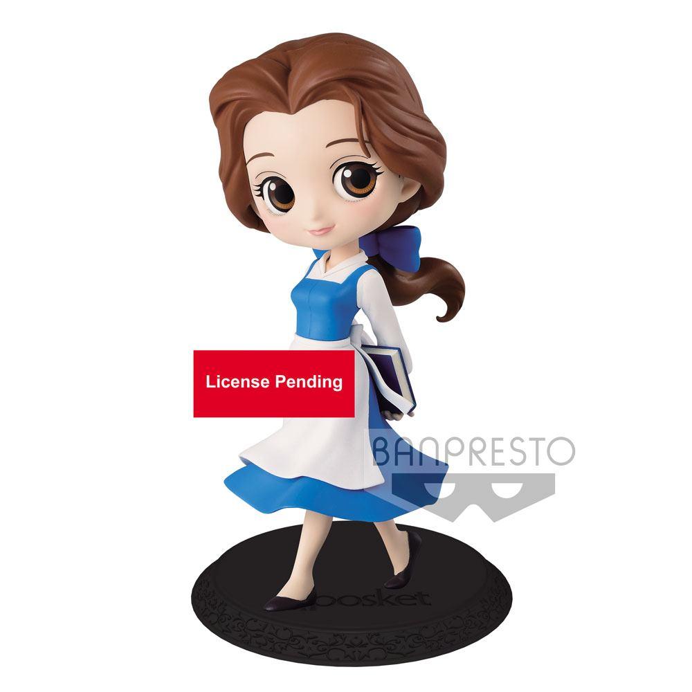 Disney Q Posket Mini Figure Belle Country Style A 14 cm
